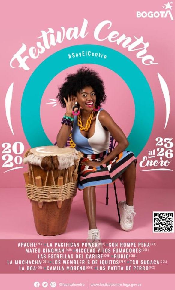 Bogotá lista para el XI Festival Centro 2020