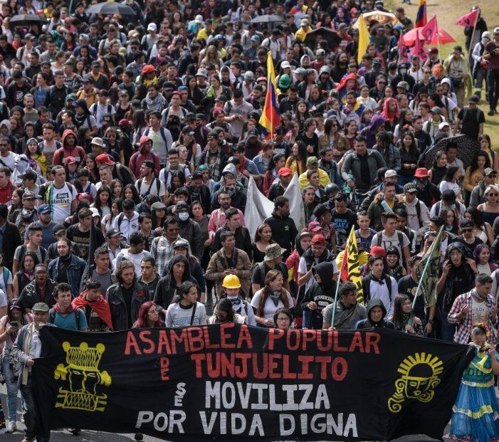 En todo Colombia se reactivaron las protestas contra el Gobierno de Iván Duque