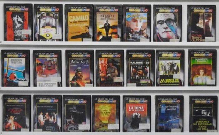 Colección del cine colombiano en la Red de Bibliotecas del Banco de la República