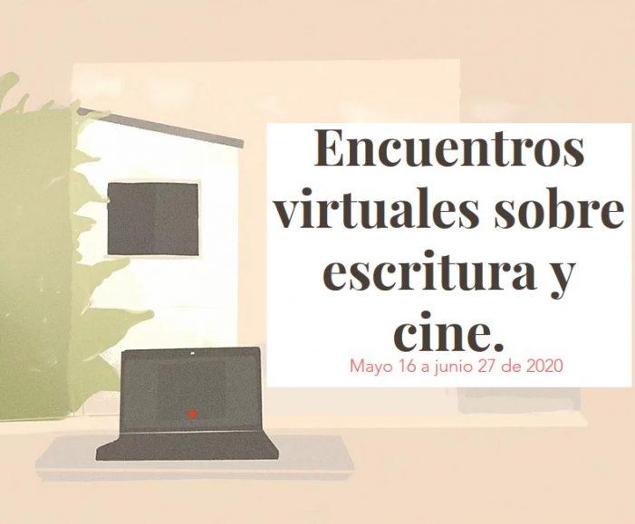 La Fundación Algo en Común invita a encuentros virtuales sobre escritura y cine