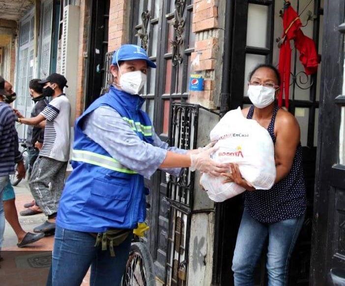"""Programa """"Bogotá Solidaria Avanza"""" ha entregado cerca de 80 mil ayudas humanitarias"""