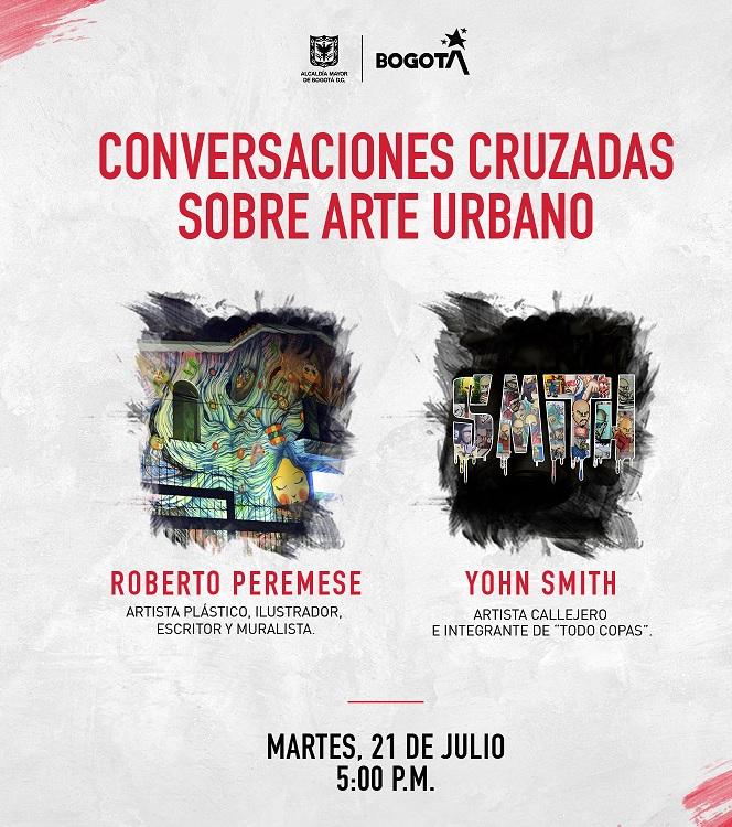"""Conversaciones cruzadas sobre arte urbano"""