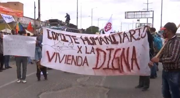 'Caminata por la dignidad' llegó a Bogotá para denunciar asesinatos