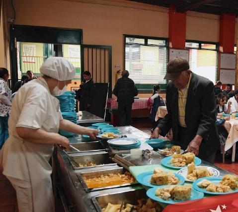 Bogotá reabrió de forma presencial comedores comunitarios