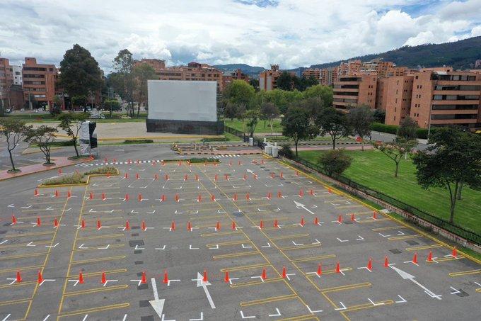 Aprueban apertura de autocine en Bogotá