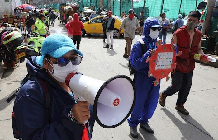 """Alcaldía de Bogotá puso al servicio la página """"Bogotá Cuidadora"""""""
