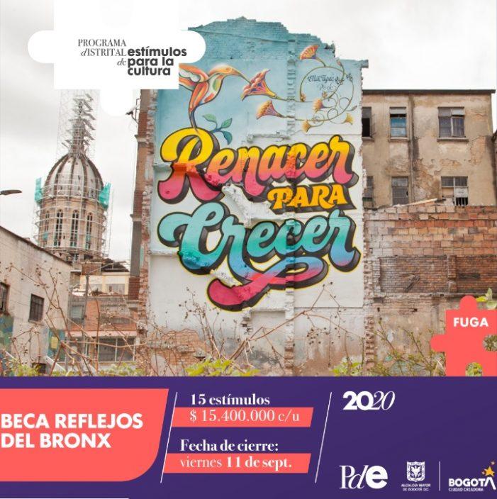 La Fundación Gilberto Alzate Avendaño FUGA lanzó beca para promover historias positivas sobre el Bronx