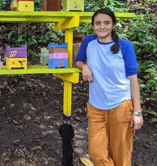 ¿Bogotana utilizó drones para resolver un misterio de abejas?