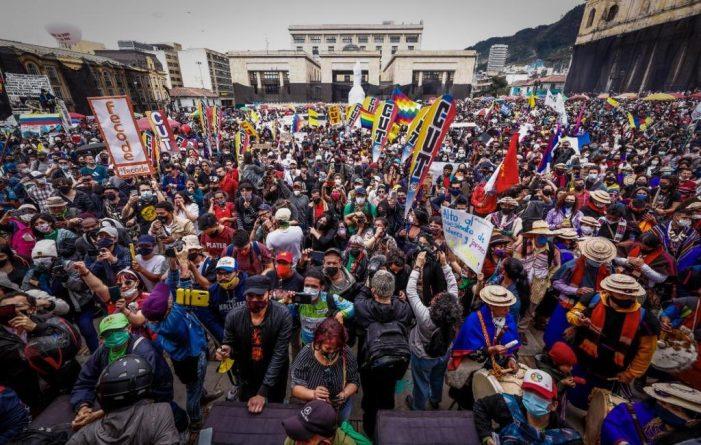 En paz transcurrió Paro Nacional en Colombia