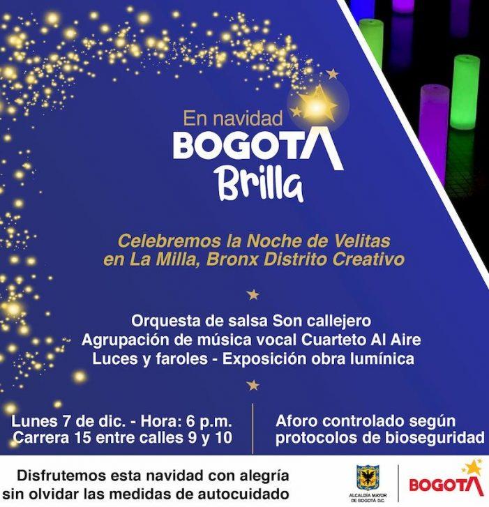 La Navideña llega a las localidades del centro de Bogotá