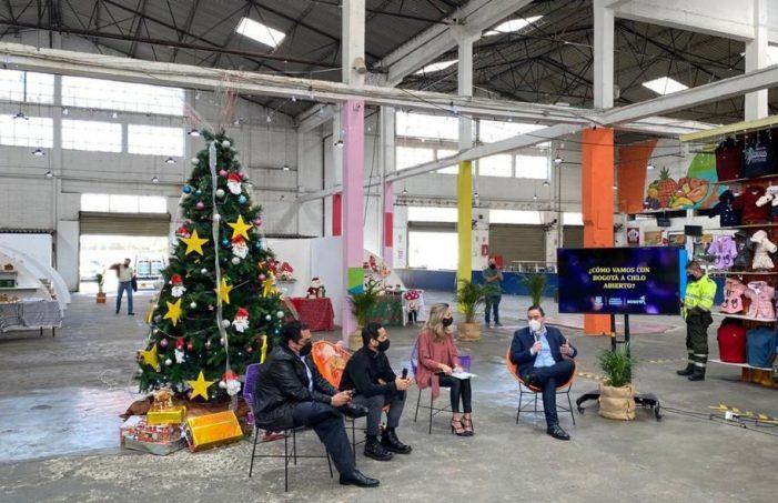 'Bogotá a Cielo Abierto' vincula a los vendedores informales
