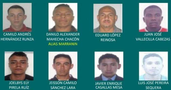 Los delincuentes más buscados de Bogotá