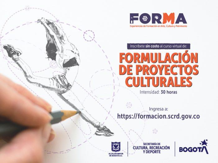 Abierta la convocatoria en cursos de Formación para el Desarrollo Cultural del SCRD