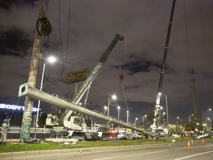 Avanza traslado de redes de energía para la construcción del Metro de Bogotá