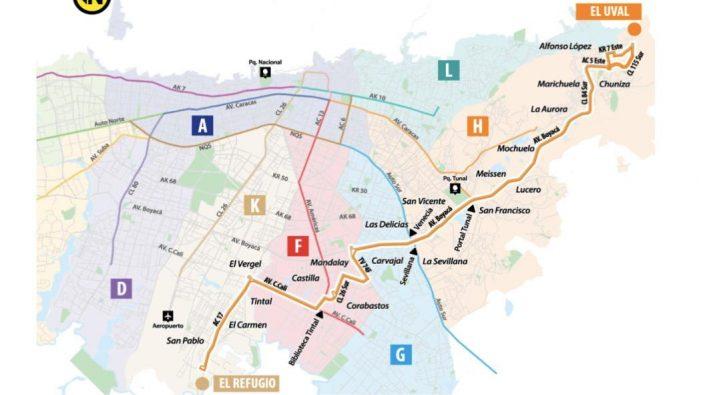 Nueva ruta conectará a Fontibón con Usme