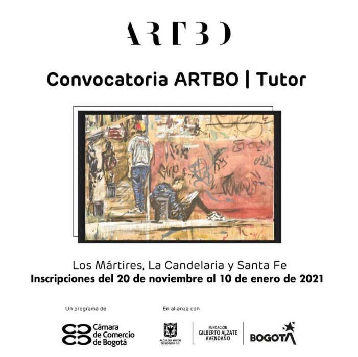 Convocatoria ARTBO | Tutor