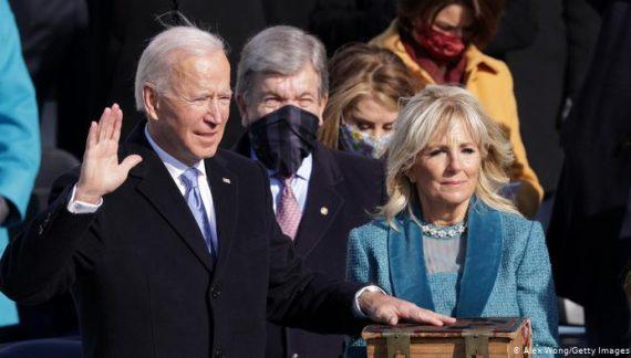 Joe Biden se posesionó como nuevo presidente de Estados Unidos