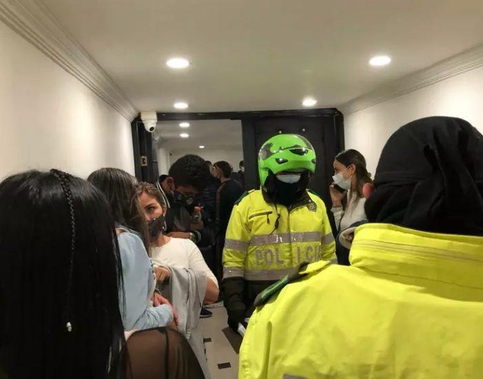 Más de 30 personas son sorprendidas en fiesta clandestina en Chapinero