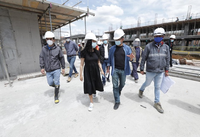 Construcción del Centro Integral de Justicia en Bosa avanza en un 35 %