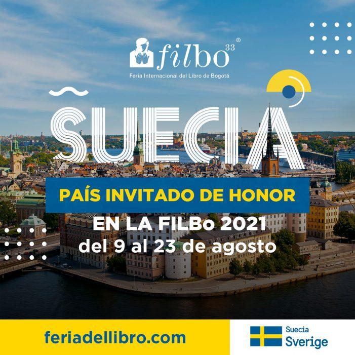 Suecia es el país invitado a la FilBo 2021