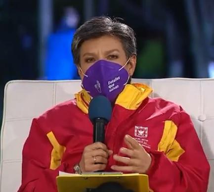 """Claudia López: """"Tenemos que unir nuestros esfuerzos contra esa minoría violenta"""""""