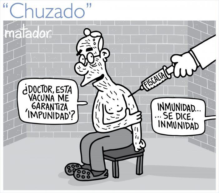 """""""Chuzado"""" por Matador"""