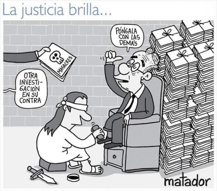 La justicia brilla…Por Matador