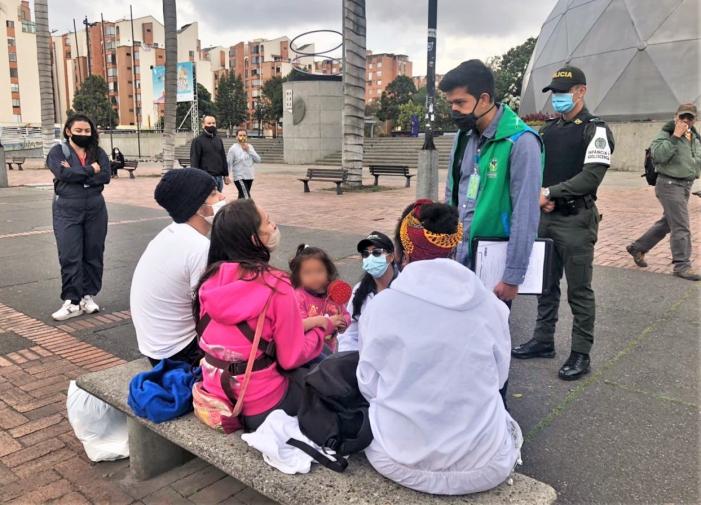 ICBF identificó a 35 niños en riesgo de vulneración por trabajo infantil en Bogotá