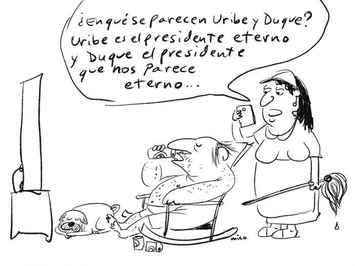 Presidente eterno…. por Mico
