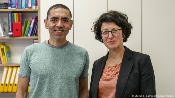 Migrantes, científicos y visionarios de BioNtech: Ugur Sahin y Özlem Türeci