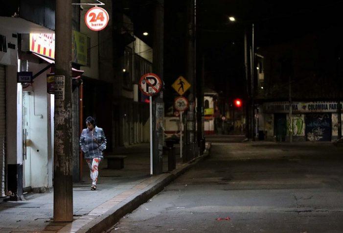Toque de queda nocturno en Bogotá
