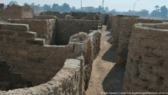 Descubren en Egipto ciudad de más de 3.000 años de antiguedad