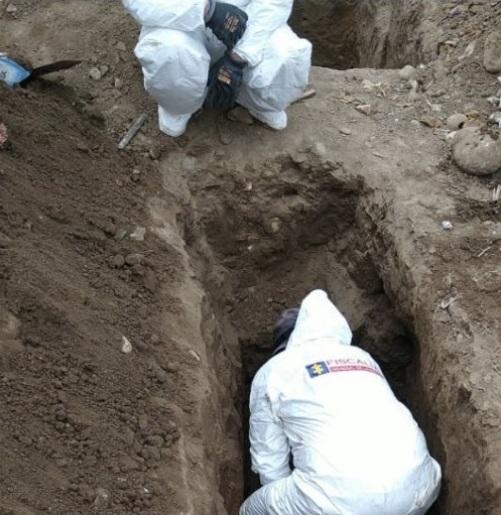 Hallan fosa común con 26 cadáveres en Bogotá