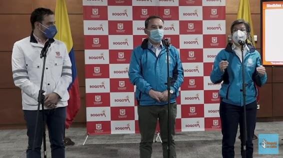 Alerta Roja general en Bogotá y suspensión de clases presenciales