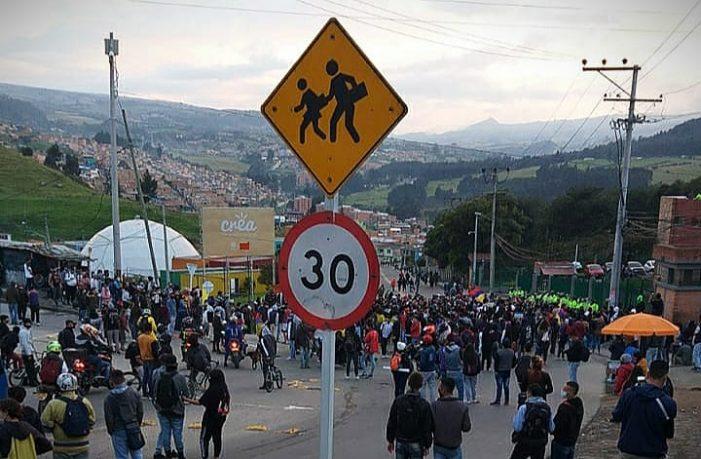 Sexto día de protestas en Colombia, aumentan las protestas contra el gobierno Duque