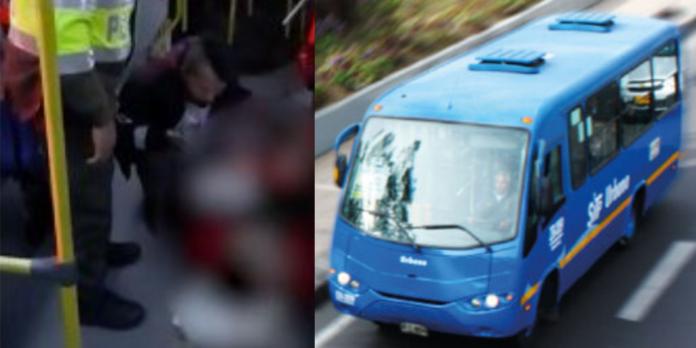 Nace un bebe en bus del SITP de Bogotá