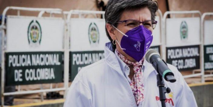 """Claudia López: """"La salida política la tiene el Gobierno Nacional en sus manos"""""""