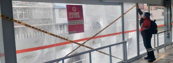 Estaciones de TransMilenio que no están operando este lunes 3 de mayo
