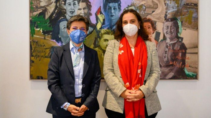 Alcaldesa de Bogotá entrega informe a la Comisión Interamericana de Derechos Humanos (CIDH)