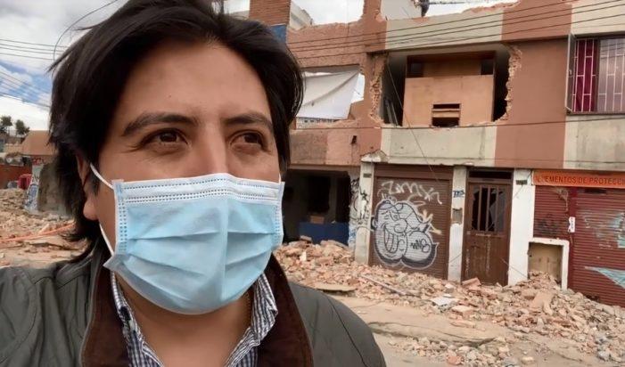 Concejal Andrés Onzaga pide acelerar demoliciones de la Avenida 68