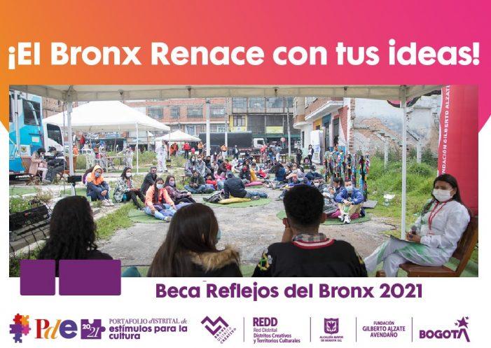 Hasta el 23 de julio estará abierta la convocatoria Beca Reflejos del Bronx