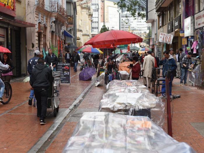 IPES sorteará 20 módulos para vendedores informales de Bogotá