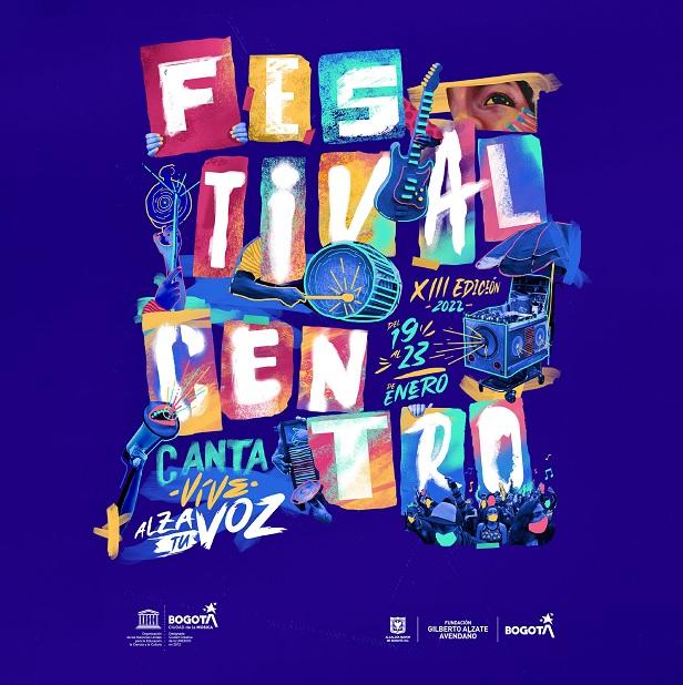 Bogotá lanza la edición 2022 del Festival Centro