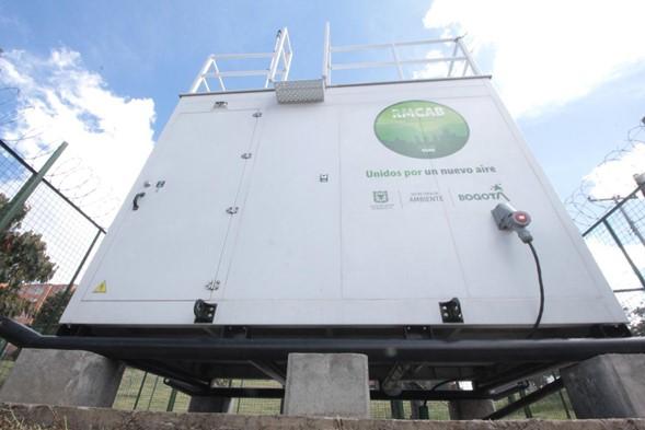 Bogotá cuenta con 20 estaciones de monitoreo de la calidad del aire