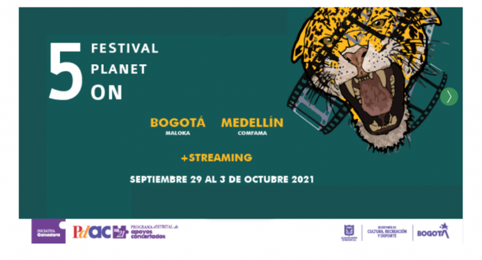 """El Festival Internacional de Cine Ambiental """"Planet On"""" se presentará en Bogotá"""