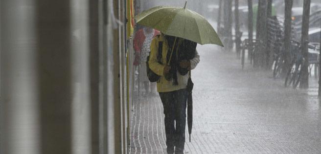 Llegó la temporada de lluvias a Bogotá